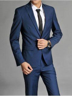 Men's One Button Super Slim Fit Suit *Jacket,and Pants | Slim fit