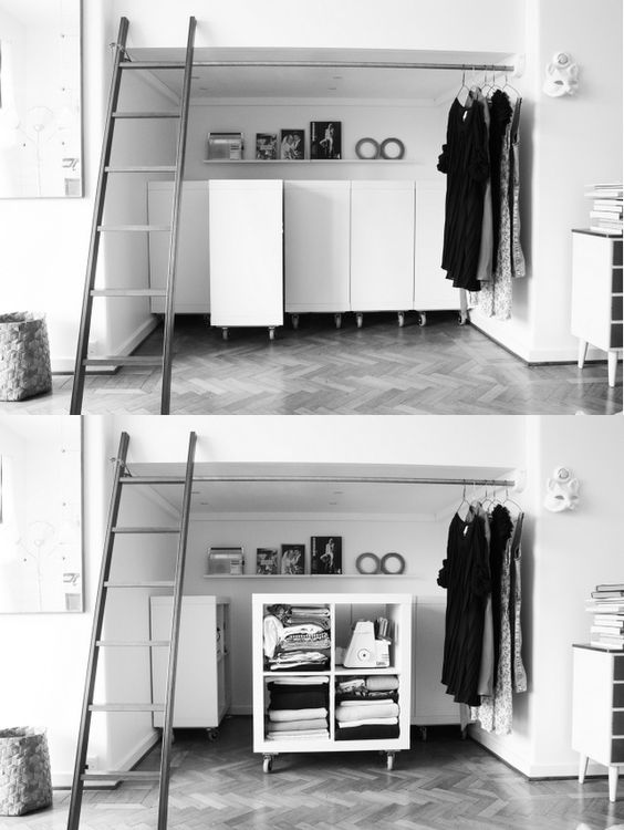 Very cute and useful storage system here