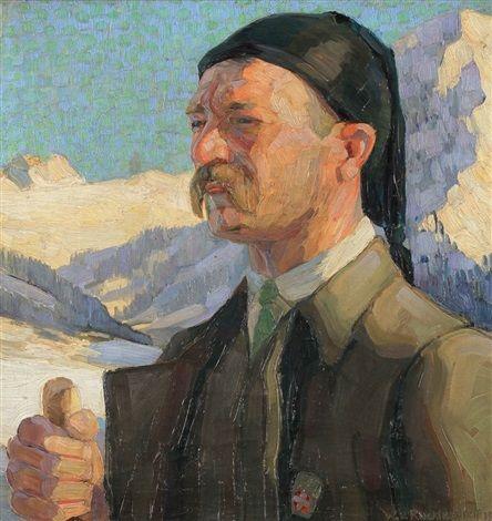 1911 - W. v. Ruckteschell - Bergführer im Engadin