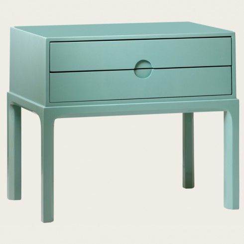 {side table} love! this color