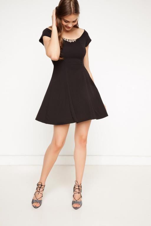 Defacto 2020 Kisa Gece Elbiseleri Abiye Modelleri Kisa Etekli Elbiseler The Dress Siyah Abiye