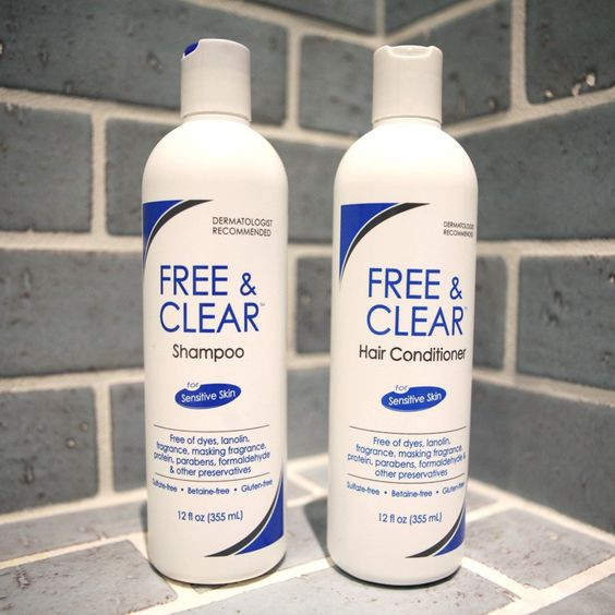 Free & Clear Shampoo and Conditioner - Hypoallergenic Shampoo/Conditioner | AchooAllergy.com