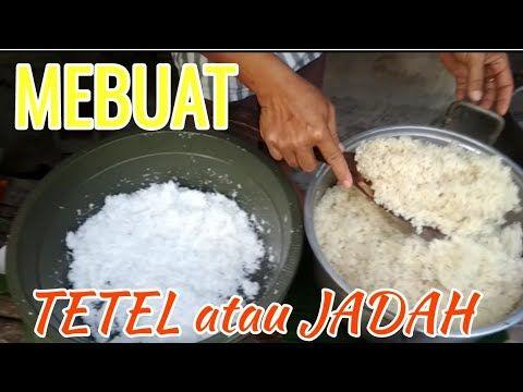 Cara Membuat Jadah Atau Tetel Youtube Food Food And Drink Snacks