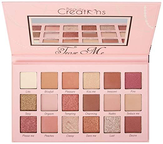 Beauty Creations Tease Me Eyeshadow Palette By Beauty Creations