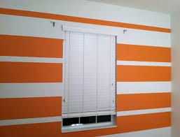 Image result for orange and grey striped wall'