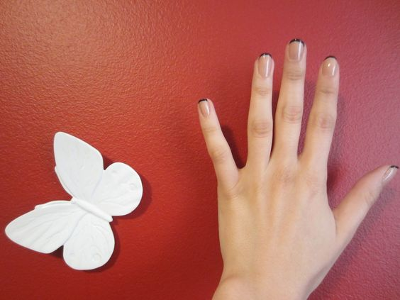 how to do a perfect french manicure at home