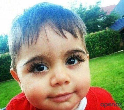 armenian boy guinness records book longest lashes