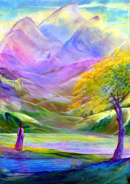 The Path Beyond ~ Jane Small Fine Art: