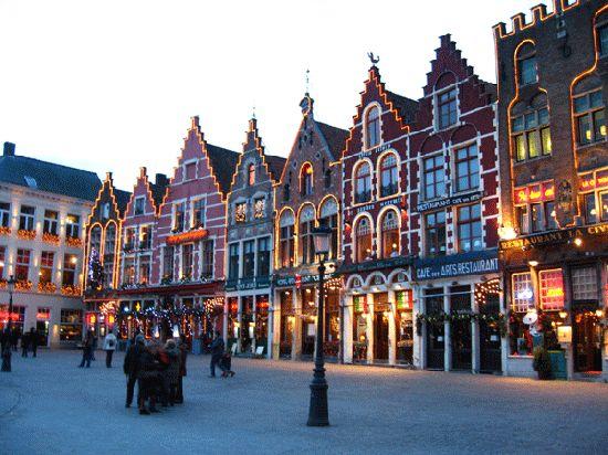 Belgium - Bruges - Town Square
