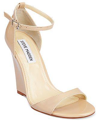 Steve Madden Womens Shoes, Reeldeal Wedge Sandals - Steve Madden - Shoes - Macys