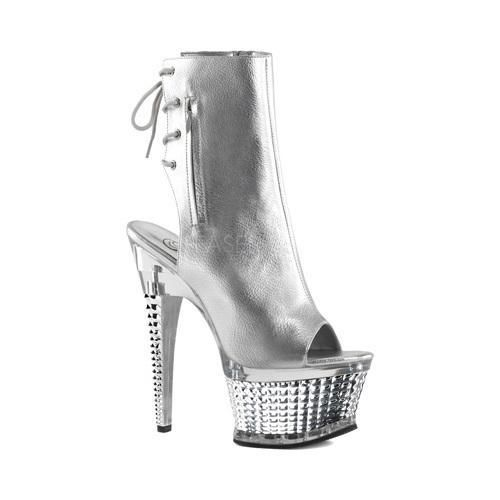 Women's Pleaser Illusion 1018CH Silver