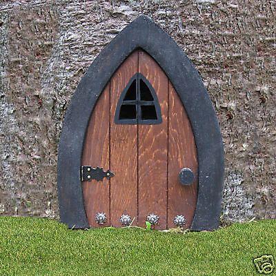 """Gnome doors, Fairy Doors, Faerie Doors, Elf Doors, 9 """"."""