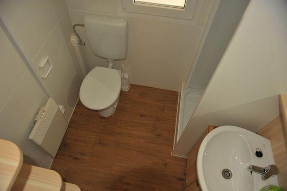 Bad-WC mit Dusche, Mobilheim J.