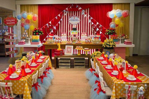 Encontrando Ideias: Festa Circo!!:
