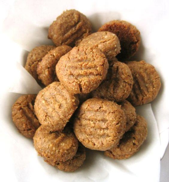 Sabor Saudade: Biscoitos de manteiga de amendoim sem farinha ( sem gluten)