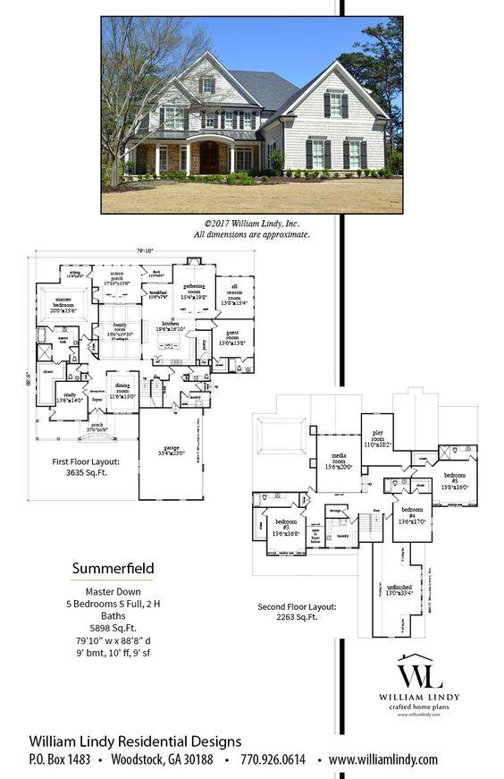 William Lindy House Plans (williamlindy) on Pinterest