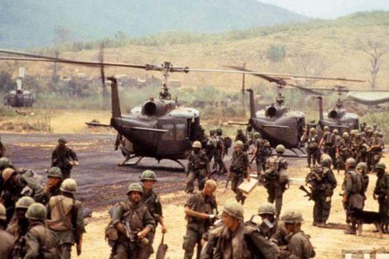 Combat assault, Vietnam