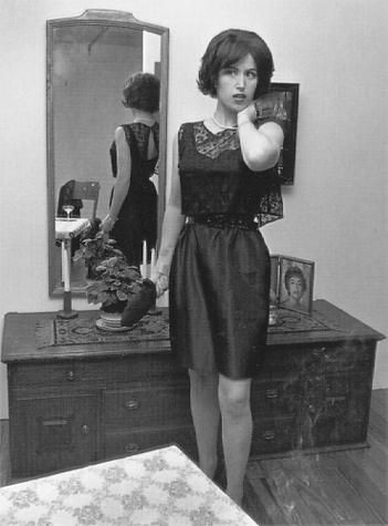 Does anyone know a photographer/artist I could use in a case study comparison with Cindy Sherman?