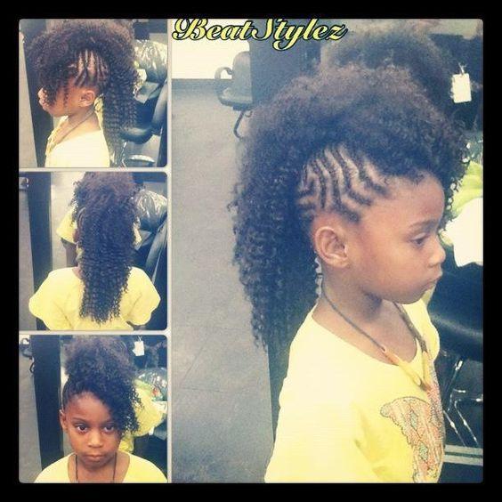 Kids #Braided #Mohawk | HairLife | Pinterest | Braided ...