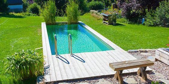 Holzpool WEKA Korsika mit Sandfilteranlage - Schwimmbecken aus