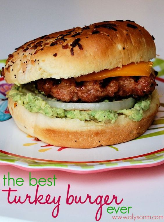 Best turkey burgers, Best turkey and Turkey burgers on Pinterest
