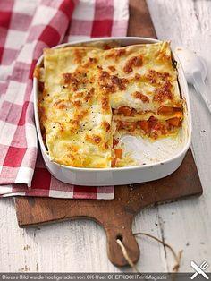 Kürbis - Lasagne, ein gutes Rezept aus der Kategorie Gemüse. Bewertungen: 215. Durchschnitt: Ø 4,4.