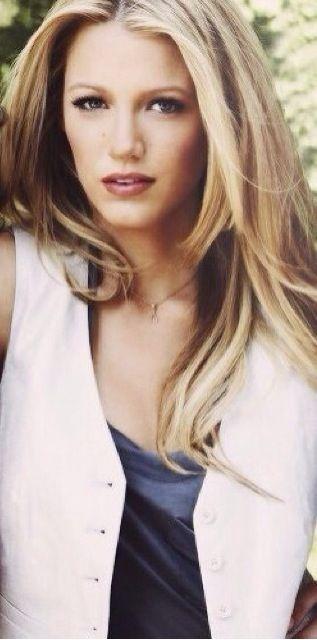 Serena Van Der Woodsen Straight Hair