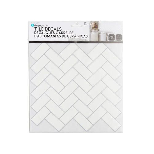 Tiles Wall Stickers Peel And Stick A Chevrons Auto Adhesifs 10 X10 Idesign Peel Stick Backsplash Peel And Stick Tile Stick On Tiles