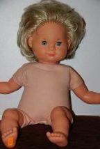 """Puppe mit """"Schlenker""""-armen und -beinen. Meine hiess Susi! :-)"""