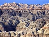A wide variety of scenery awaits visitors to Badlands National Park, South Dakota.