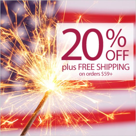 Start your sparklers! Save 20% OFF + FREE SHIPPING on orders $59+. Use Code: PNSPARK