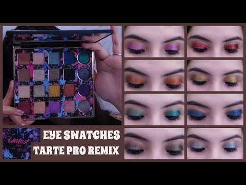 Tarte Tarteist Pro Remix Eyeshadow Palette Review And Eye
