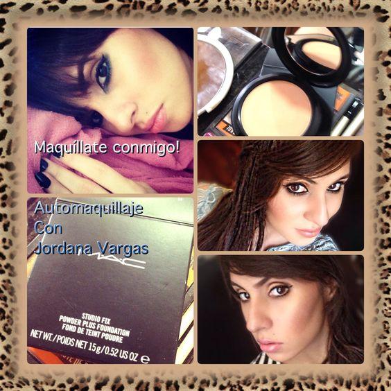 Curso de Automaquillaje, en versión Maquíllate conmigo! Con Makeup artist Jordana Vargas   #makeup #stylish