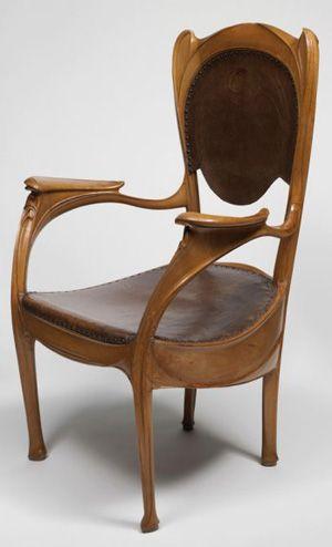 jugendstil furniture art nouveau chairs art nouveau. Black Bedroom Furniture Sets. Home Design Ideas