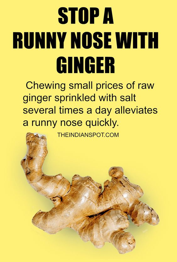 Home remedies for runny nose!