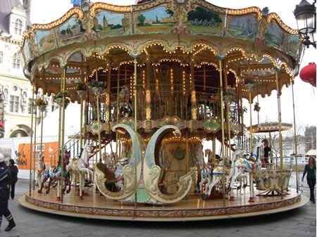 Vintage Carousel, France