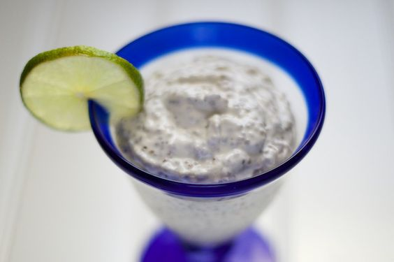 Key Lime Pie Chia Pudding Recipe [paleo, primal, gluten-free]