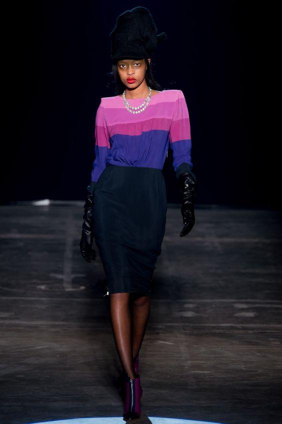 Band of Outsiders Fall 2013 Ready-to-Wear Fashion Show - Marihenny Rivera Pasible