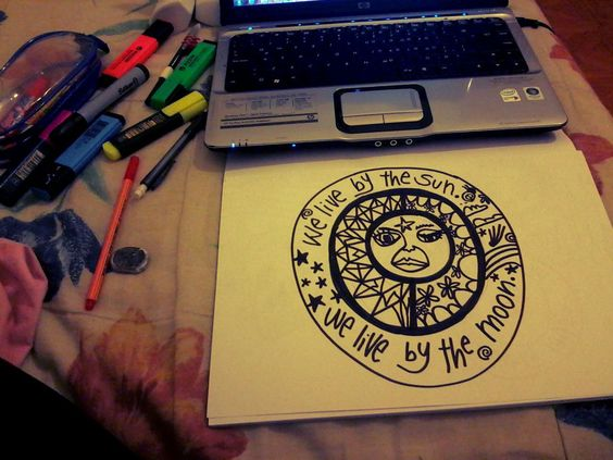 Dibujando un poco