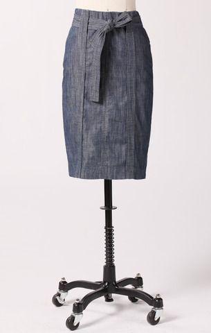 Knee-length Skirts: Corner Market Skirt from ModBe