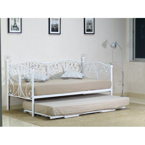 Marlow Home Co Kilpatrick Daybed With Trundle Daybed With