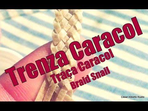 """Trenza Caracol (de 6 cabos) Braid Snail """"El Rincón del Soguero"""" - YouTube"""