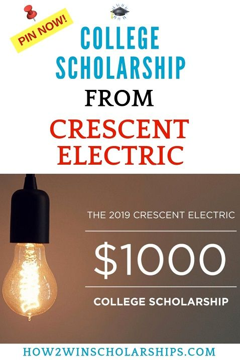 Crescent Electric College Scholarship Apply Now With Images