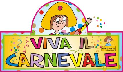 maestra mary carnevale disegni biglietti inviti
