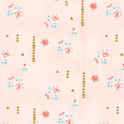 Michael Miller - Brambleberry Ridge - Violet Craft - Rosemilk in Cameo by Bobbie Lou's Fabric Factory