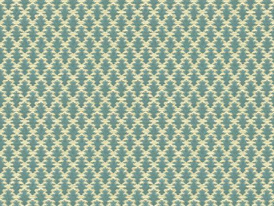 Brunschwig & Fils DIAMOND LATTICE FIGURED TEXTURE SLATE BLUE BR-89739.280 - Brunschwig & Fils - Bethpage, NY