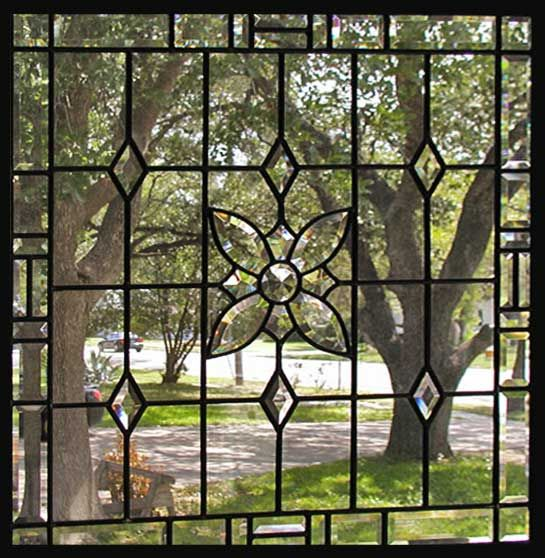 Stainglass for large windows sidelights flw religious for Victorian window design