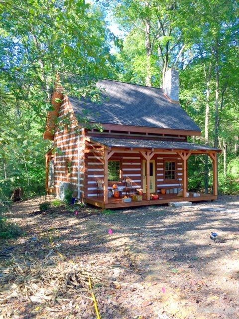 Indiana Traditional Log Cabin | Honest Abe Log Homes & Cabins ...