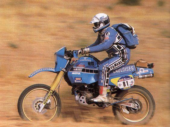 Jacky Vimond 1984 auf der Sonauto TÉNÉRÉ