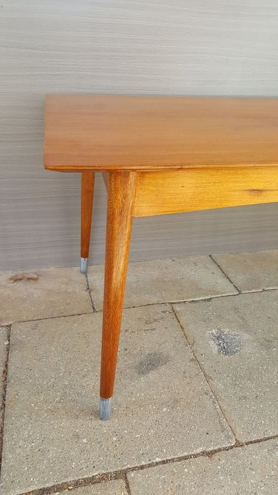 1950s Oak Dining Table